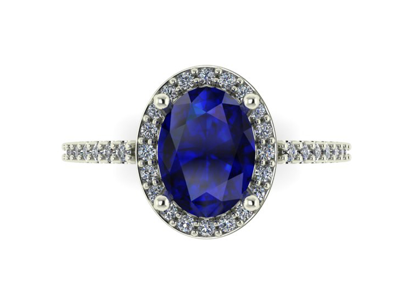 14kt white gold tanzanite diamond ring 001 200 03938 for Bellissima jewelry moschitto designs