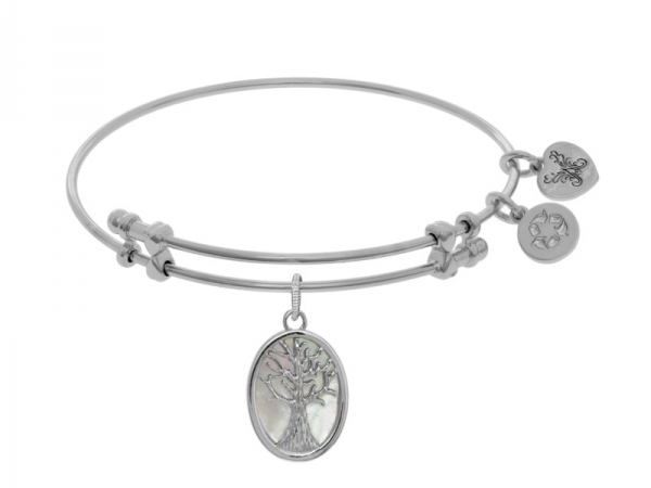 Brass White Tree of Life Angelica Bracelet by Angelica