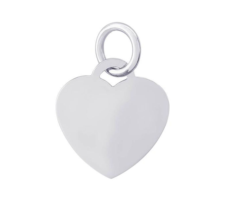 Sterling Silver Heart Charm by Rembrandt Charms