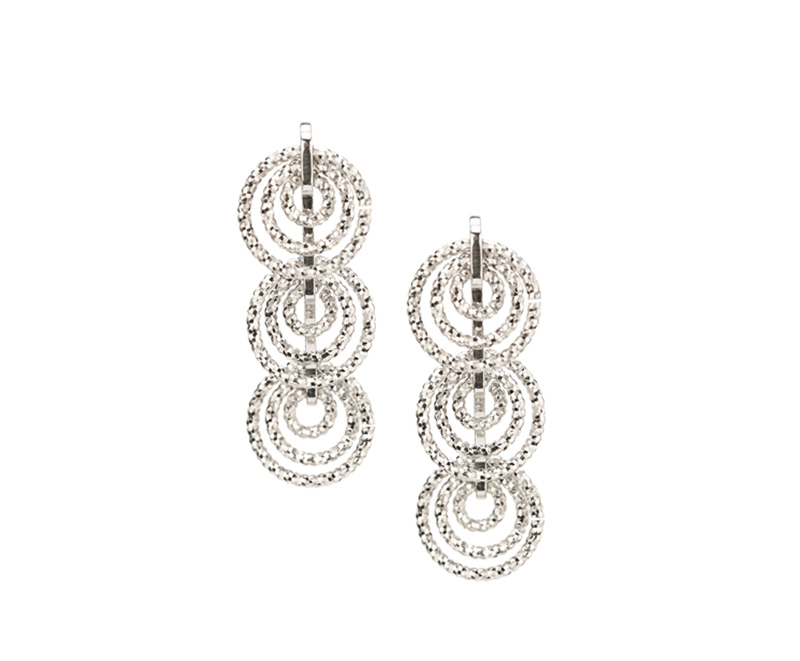 Sterling silver drop earrings 001 645 00741 silver for Bellissima jewelry moschitto designs