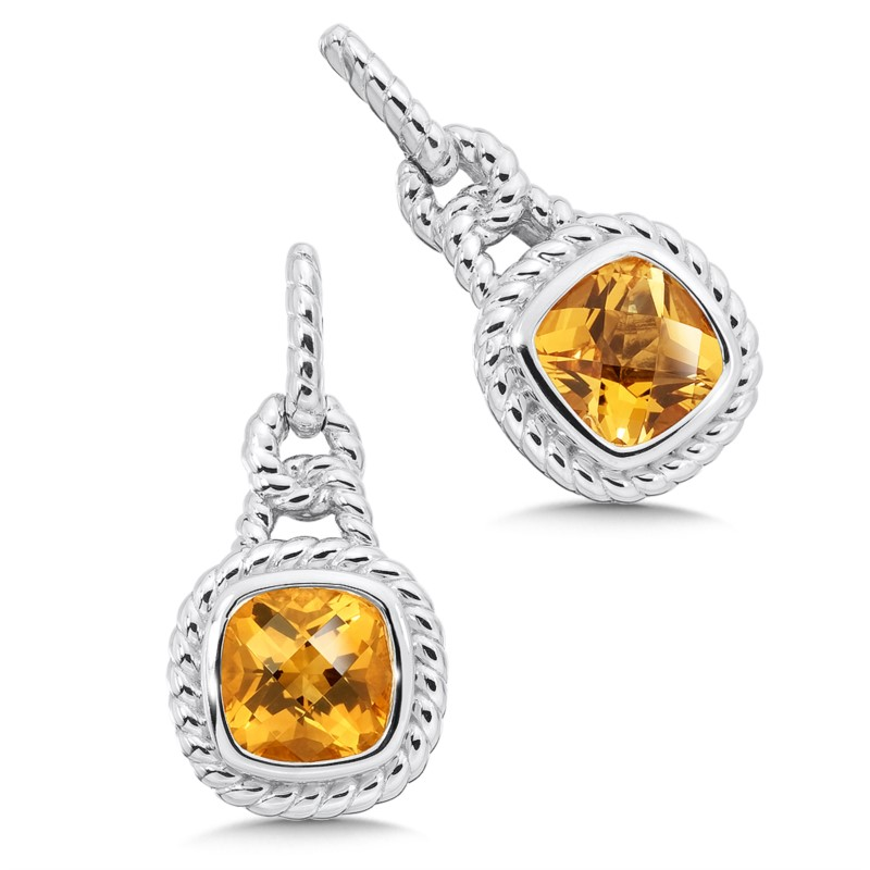 Citrine Earrings by Colore | SG